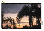 Sunset Through The Palms Carry-all Pouch