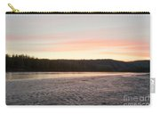 Sunset Twilight Over Taiga At Yukon River Canada Carry-all Pouch