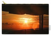 Sunset Under The Umbrella By Diana Sainz Carry-all Pouch