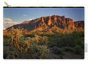 Sunset View Of The Superstitions  Carry-all Pouch