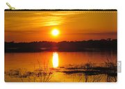 Sunset Walk In The Water Carry-all Pouch