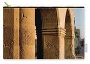 Sunset Wall Of The Old City Carry-all Pouch