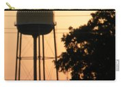 Sunset Water Tower Carry-all Pouch