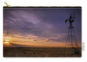 Sunset Windmill Carry-all Pouch