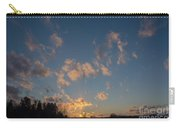 Sunset Winter Lanscape Carry-all Pouch