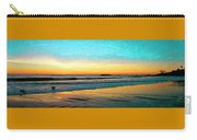 Sunset With Birds Carry-all Pouch