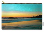 Sunset With Birds Carry-all Pouch by Ben and Raisa Gertsberg