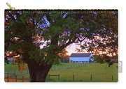 Sunset With Tree Carry-all Pouch