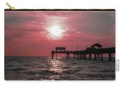 Sunsetting On The Gulf Carry-all Pouch