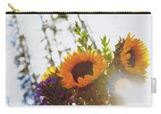 Sunshine And Sunflowers Carry-all Pouch