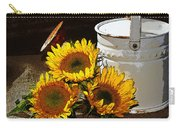 Sunshine From The Garden Carry-all Pouch