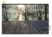 Sunshine In Winter Carry-all Pouch