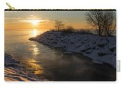 Sunshine On The Ice - Lake Ontario Toronto Canada Carry-all Pouch