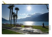 Sunshine Over A Lake Front Carry-all Pouch