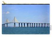 Sunshine Skyway Bridge II Tampa Bay Florida Usa Carry-all Pouch