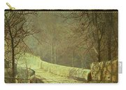 Sunshine Through Winter Trees Carry-all Pouch