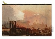 Sunsrise Over Brooklyn Bridge Carry-all Pouch