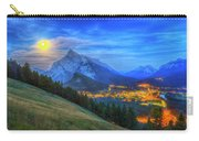 Super Moonrise Over Banff Carry-all Pouch