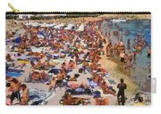Super Paradise Beach In Mykonos Island Carry-all Pouch