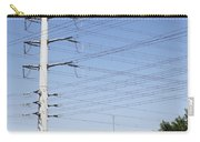 Super Power Pole And Wires Carry-all Pouch