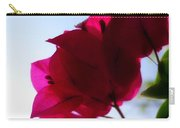 Super Red Flower Carry-all Pouch
