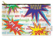 Superhero 1 Carry-all Pouch by Debbie DeWitt