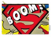 Superman Boom  Carry-all Pouch