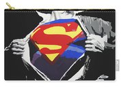 Superman Carry-all Pouch by Erik Pinto