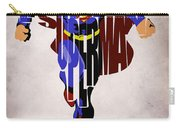 Superman - Man Of Steel Carry-all Pouch by Ayse Deniz