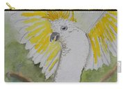 Suphar Crested Cockatoo Carry-all Pouch