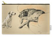 Supplication Carry-all Pouch by Cecil Charles Windsor Aldin