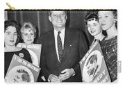 Supporters Greet Kennedy Carry-all Pouch