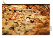 Supreme Meat Works Pizza  Sliced And Ready To Eat Carry-all Pouch