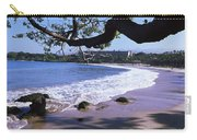 Surf On The Beach, Mauna Kea, Hawaii Carry-all Pouch