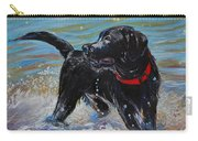 Surf Pup Carry-all Pouch by Molly Poole