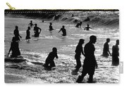 Surf Swimmers Carry-all Pouch by Sean Davey