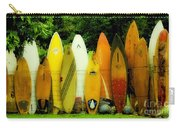 Surfboard Fence Hawaii 1 Carry-all Pouch