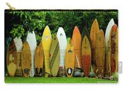 Surfboard Fence Maui Carry-all Pouch