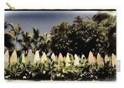 Surfboard Fence - Old Postcard Carry-all Pouch