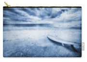 Surfboard On The Beach Carry-all Pouch
