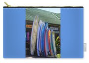 Surfboards At Hanalei Surf Carry-all Pouch