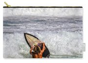 Surfer Catch The Wave Carry-all Pouch