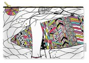 Surfer Girl Carry-all Pouch by Susan Claire