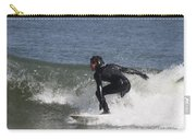 Surfer Hitting The Curl Carry-all Pouch