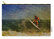 Surfer In Oil Carry-all Pouch