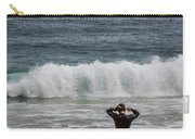 Surfer Checking The Waves Carry-all Pouch