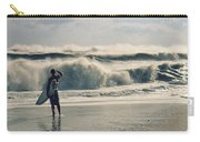 Surfer Watch Carry-all Pouch by Laura Fasulo
