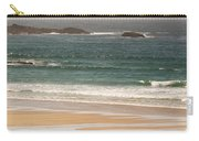 Surfers On Beach 01 Carry-all Pouch by Pixel Chimp
