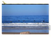 Surfers Waiting.... Carry-all Pouch