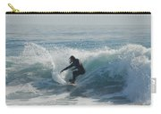 Surfing In The Sun Carry-all Pouch